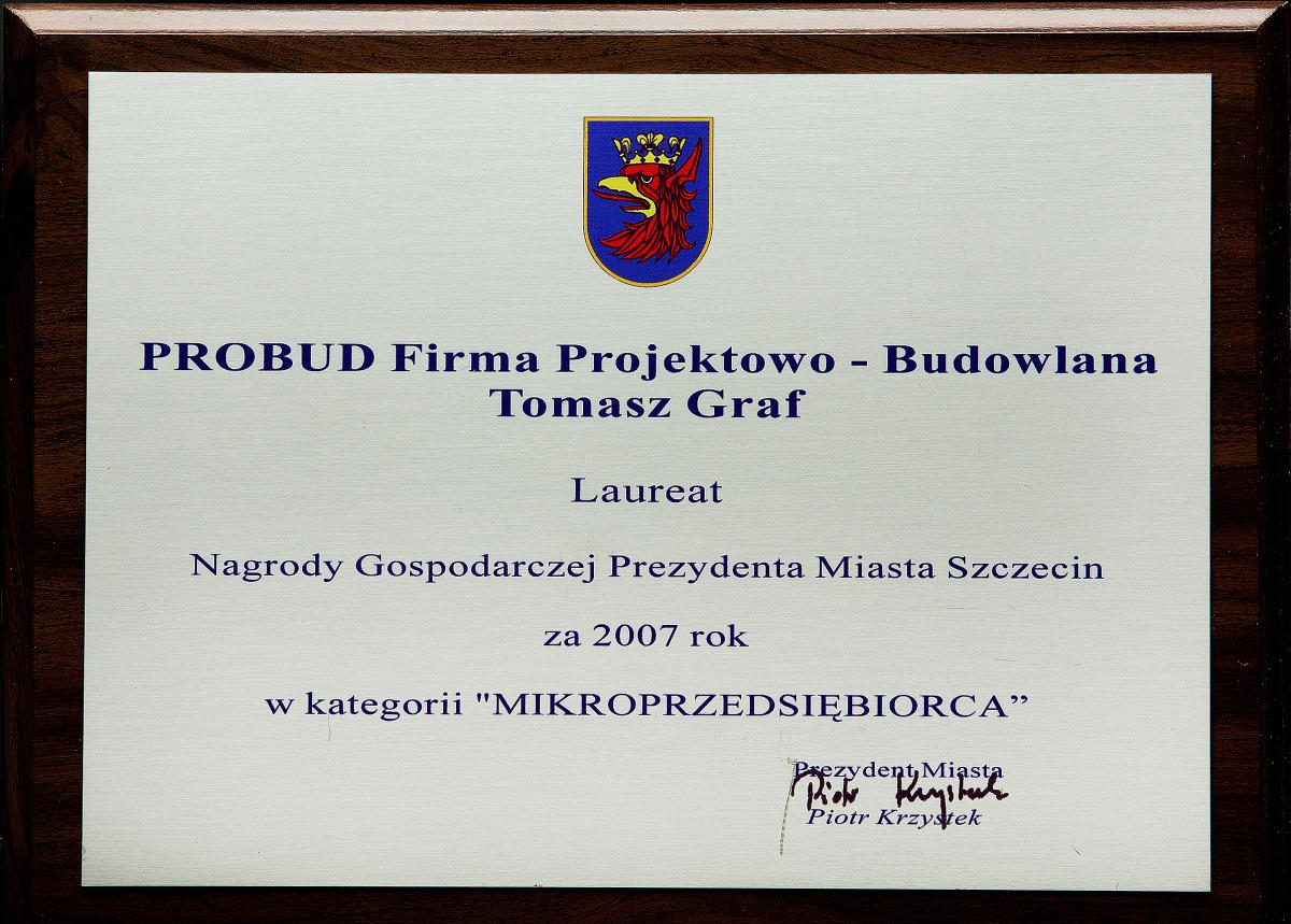 Nagroda Gospodarcza Prezydenta Miasta Szczecina